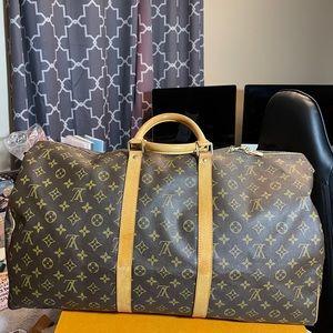 Louis Vuitton Keepall 55 Bandolier Monogram